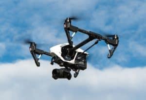 Beispiel für eine Drohne mit TOW über 2 kg