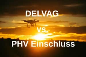 Reine Drohnenversicherung vs PHV Einschluss